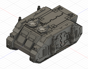 Spacewarrior Transport vehicle old 3D print model