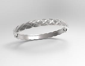 3D print model Bracelet Necklace Chanel Coco Crush Diamond