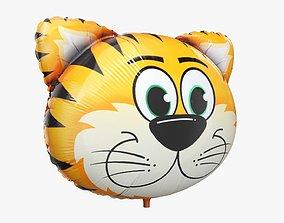 Foil decoration balloon 06 Tiger 3D