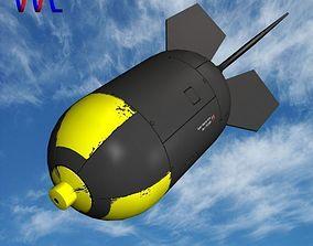 3D asset game-ready Nuke Bomb