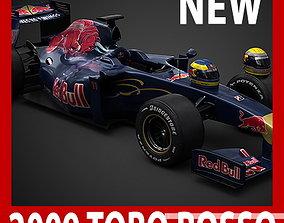 F1 2009 Scuderia Toro Rosso STR4 3D model