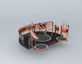Stage Design 3D model