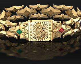 Bracelet a Monkey 3D printable model