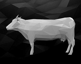 3D Printable Cow Model