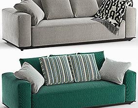 B e B italia sofa Hybrid 3D model