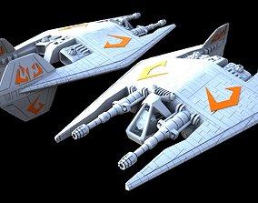 Babylon 5 Narn Frazi Fighter 3D print model