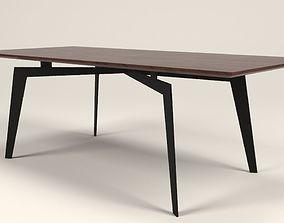 Orris wood table 3D model