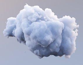 3D model Polygon Cloud 8