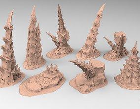 Tyty bug party terrain remix Part 3 3D print model