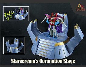 Starscream Coronation Stage from 3D printable model 2