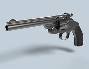 Smith and Wesson Model 3 Single Action Revolver