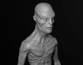 Thin Creature 3D model