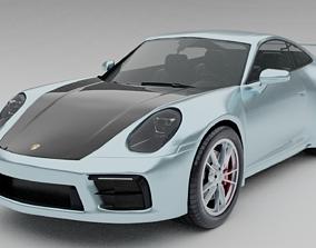 3D model Porsche 911 Carrera S 2020