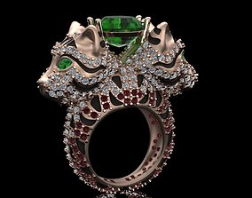 cat ring print model