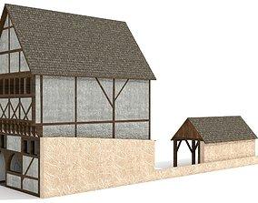 Medieval Farm 3D model