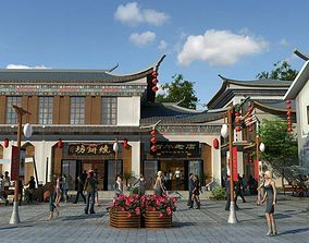 3D model China street 031
