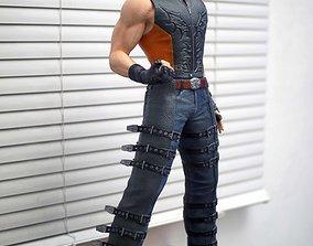 Hwoarang Tekken Fan Art Statue 3d Print Model