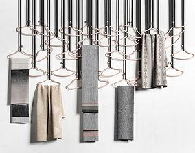 3D Hangers with Handpicked Textiles