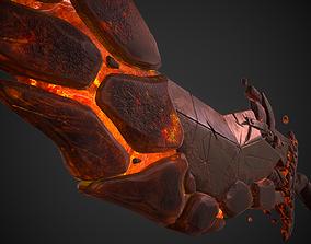 3D model PBR Great Sword Tyrants Sword