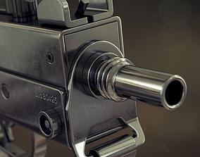 3D model Mac-11 submachine gun
