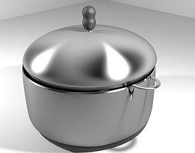 Vintage Kitchenware - Steamer 3D model
