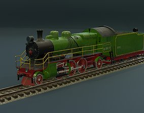 3D model Locomotive 1-3-1Su