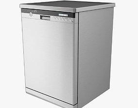 Dishwasher 3D asset