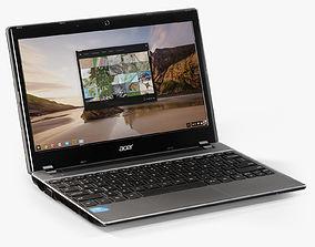 Acer C7 Chromebook 3D model
