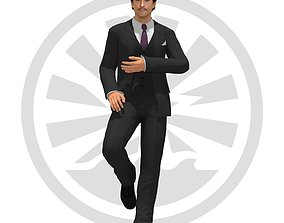 Eric Manuleto 3D model