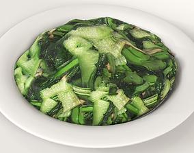 Fry vegetables 3D