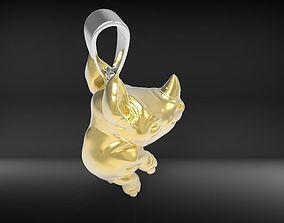 rhino Pandant 3D print model