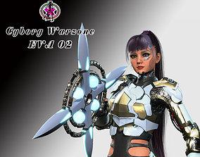 3D asset Cyborg War Zone - Eva02