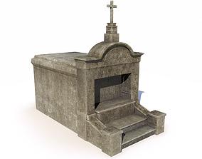 Mausoleum - tomb 2 3D model