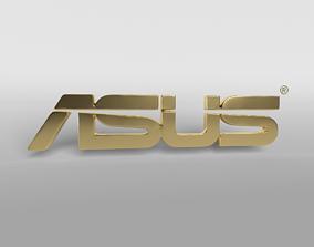 3D asset ASUS Logo 004