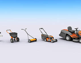 Lawn And Garden Care Equipment 3D