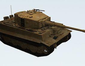 3D Panzerkampfwagen VI Sd kfz 181 Tiger I ausf E Late 1