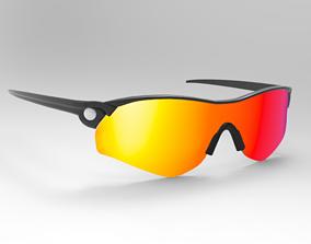 character glasses 3D model