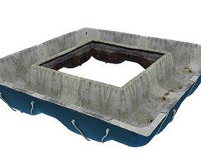 Old Swimming Pool 01 04 3D model