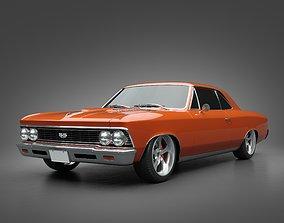 muscle 3D model 1966 Chevrolet Chevelle SS
