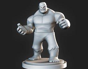 memorabilia 3D print model Hulk Fanart