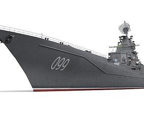 3D model Cruiser Peter the Great