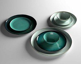 3D model Aqua Plates
