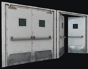 Hospital Doors Collection 3D model