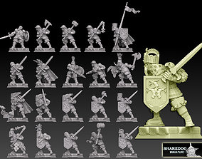 3D printable model Medieval Knights Megapack