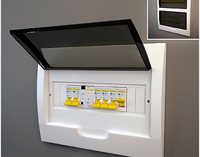 toggle Electrical panel 3D model