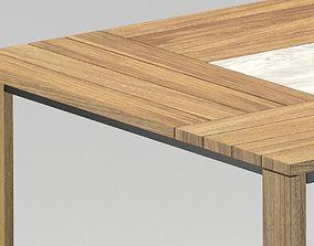Modern Scandinavian Table 3D model