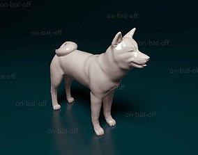 Akita Inu 3D print model