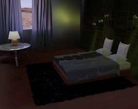 3D model I can do any bedroom design for you if you hire
