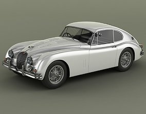 Jaguar XK150 S Fastback 3D model