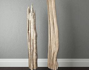 Natura Tall Root Wood 3D model